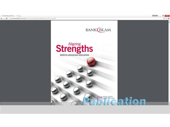 4 Publications (1048) Bank Islam Annual Report 2015