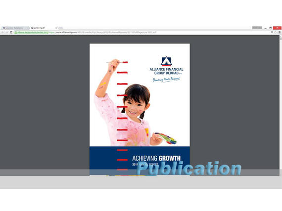 4 Publications (1058) Alliance Bank Annual Report 2011