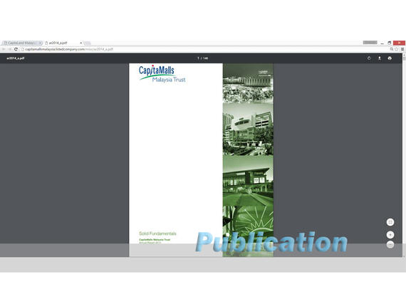 4 Publications (1061) Captaland Annual Report 2014