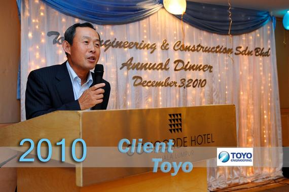 5 Client (1072) Toyo Engineering 2010