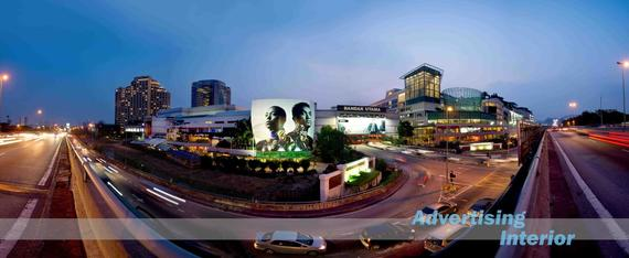 1 advertising (1001) 1 Utama Mall