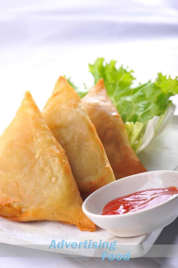 1 advertising (1145) Food Asian Samosa