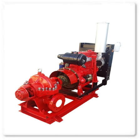 Split Casing Pump with Diesel Engine