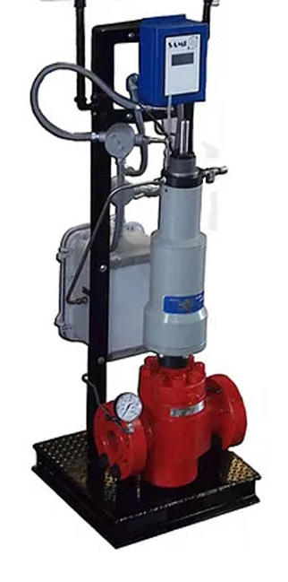 Safoco SAMI API-6A Surface Safety Valve with a Self Contained Hydraulic Control Unit