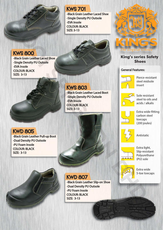 King's Safety Shoe