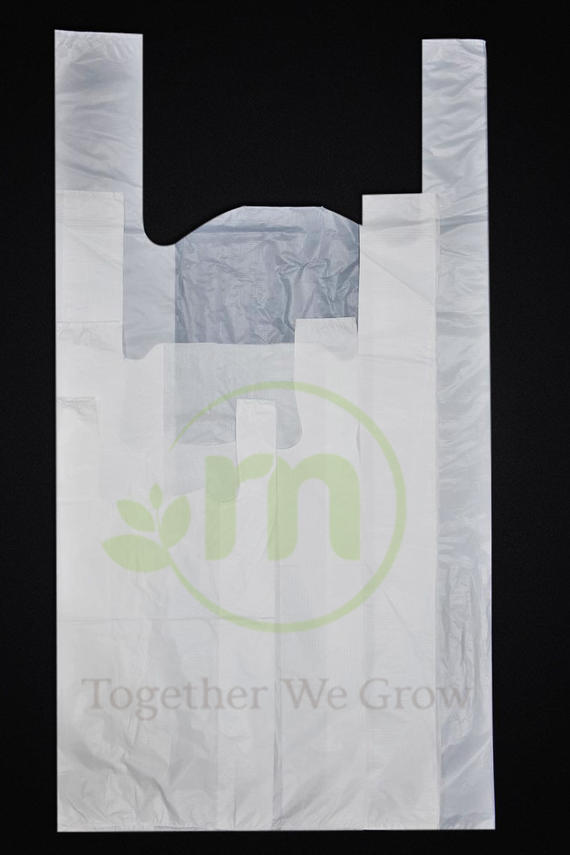 Carrier Plastic Bag (White)