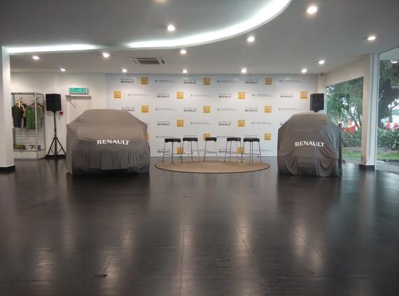 Renault Launch Event