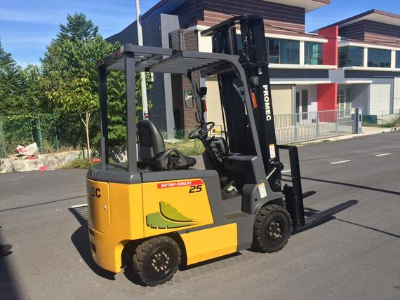 2.5Ton battery forklift
