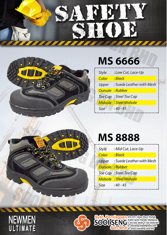 Newmen Safety Shoe