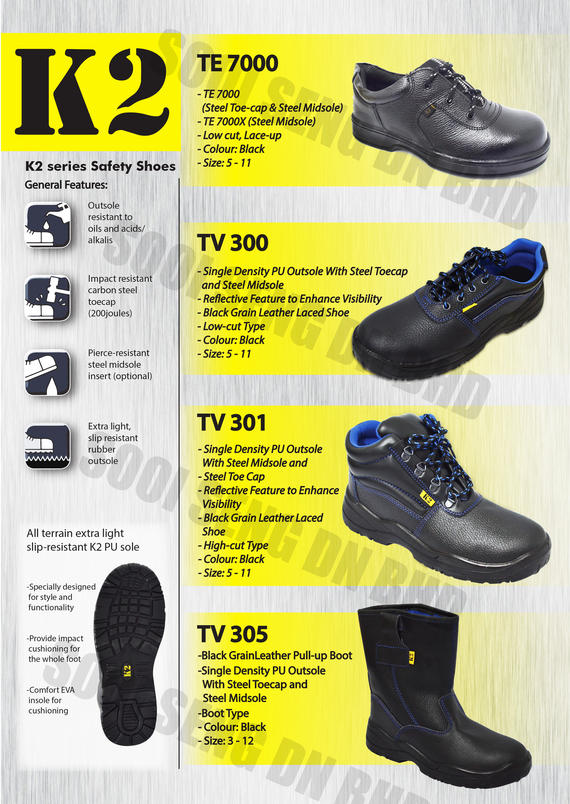 K2   Safety Shoe (new)