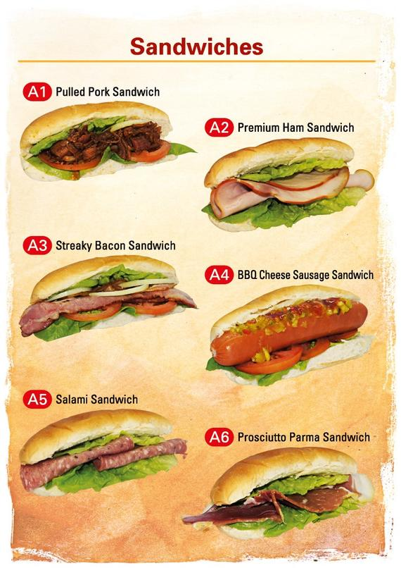 Sandwiches No RM Colour