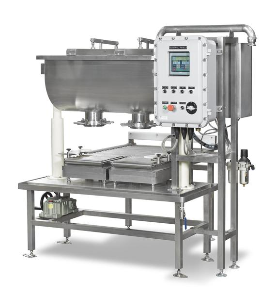 SPW-2-30K-PEX1-GF-S4 (2 HEAD GRAVITY FEED EXPLOSION PAINT FILLER)