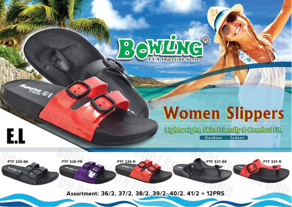 Bowling Ladies Slipper
