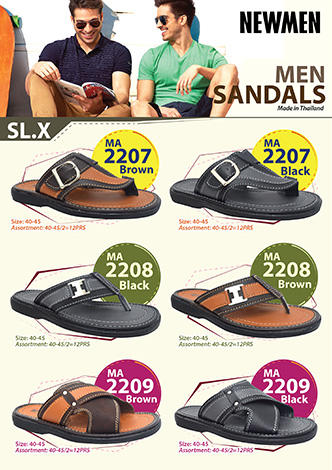 NEWMEN   Men sandals (Made in Thailand) 01