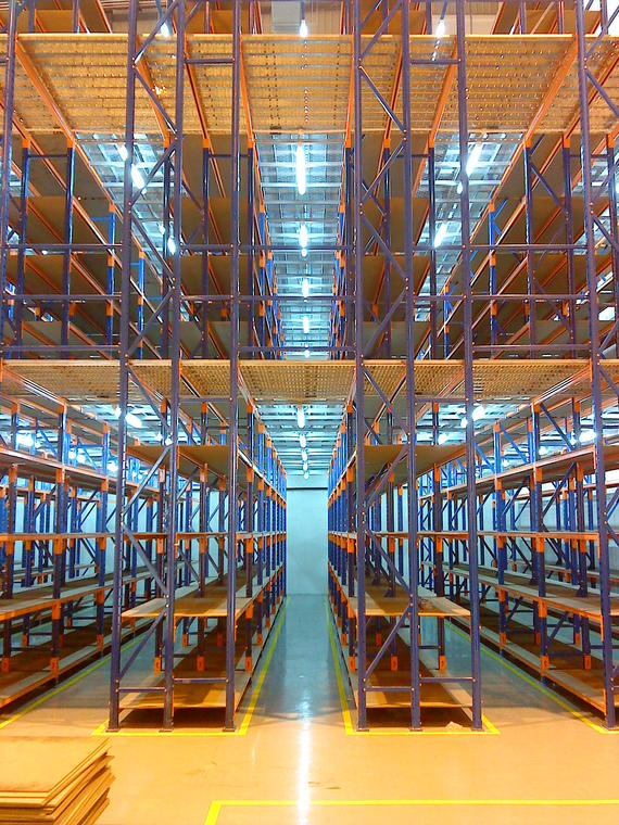 Long Span Shelving Storage System 03