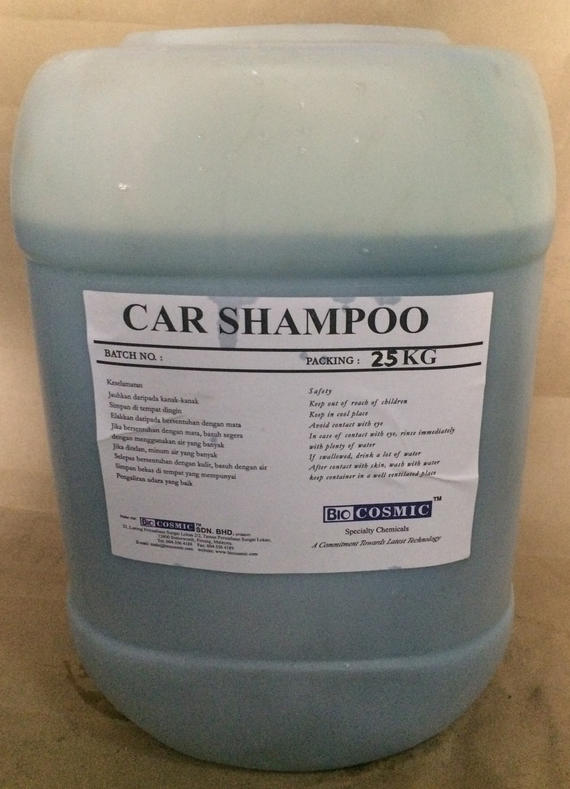 CAR SHAMPOO INDUSTRIAL