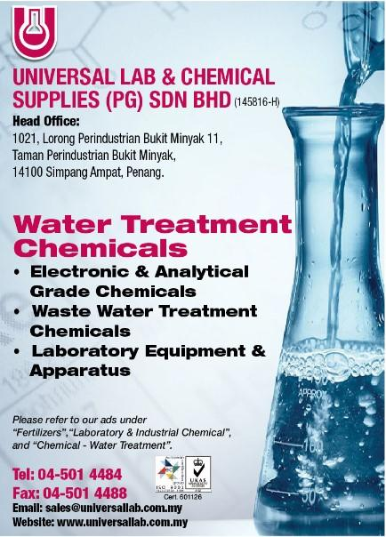 UNIVERSAL LAB & CHEMICAL SUPPLIES (PG) SDN. BHD._SP20/21 Ads_Chemical - Water Treatment