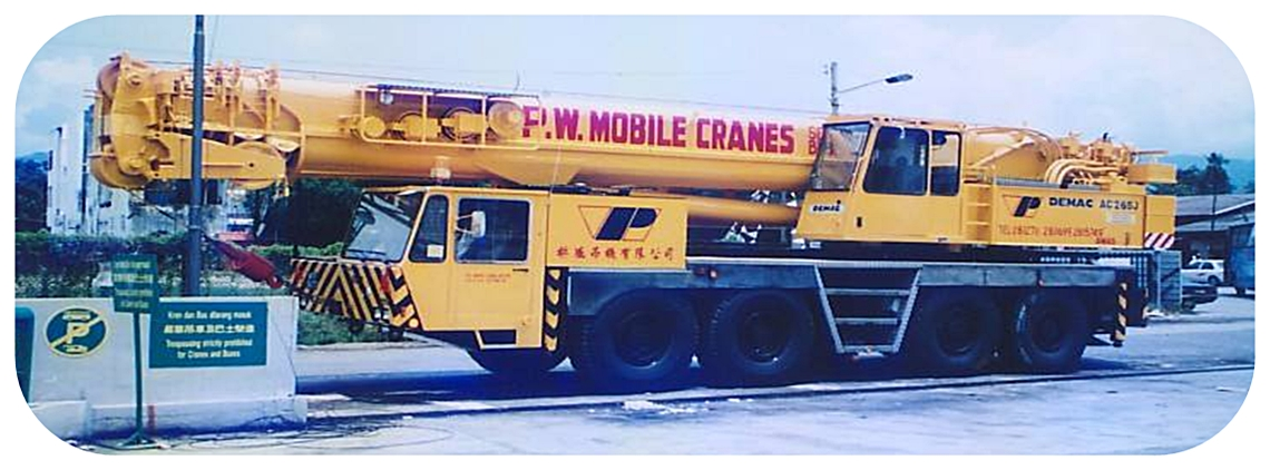 Mobile Crane Rental Malaysia : P w mobile cranes sdn bhd in penang