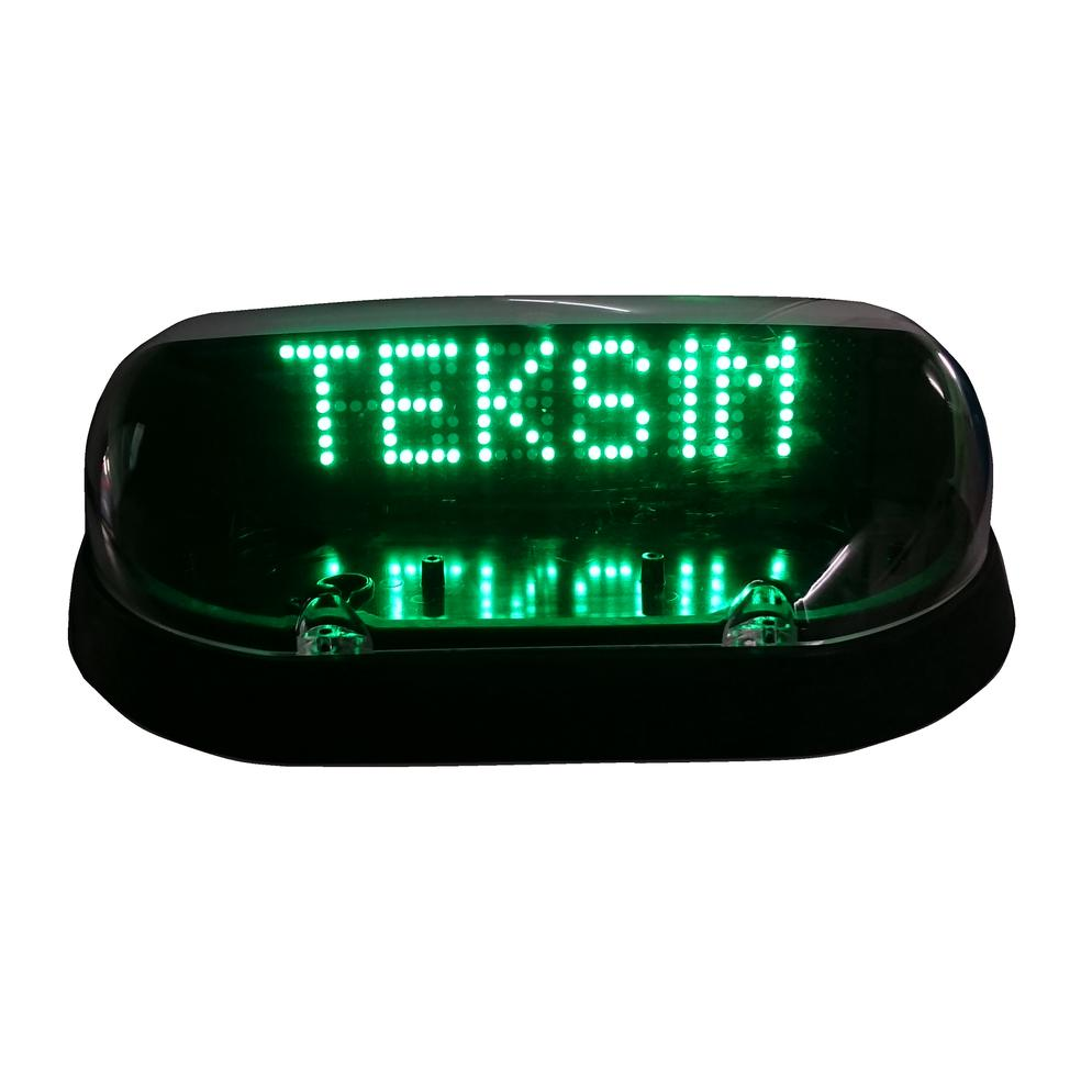 TAXI ROOF SHELL LED (FOR TEKS1M)