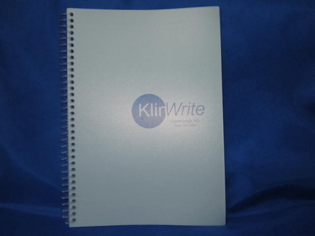 Cleanroom Note Book - Spiral (L.Blue)