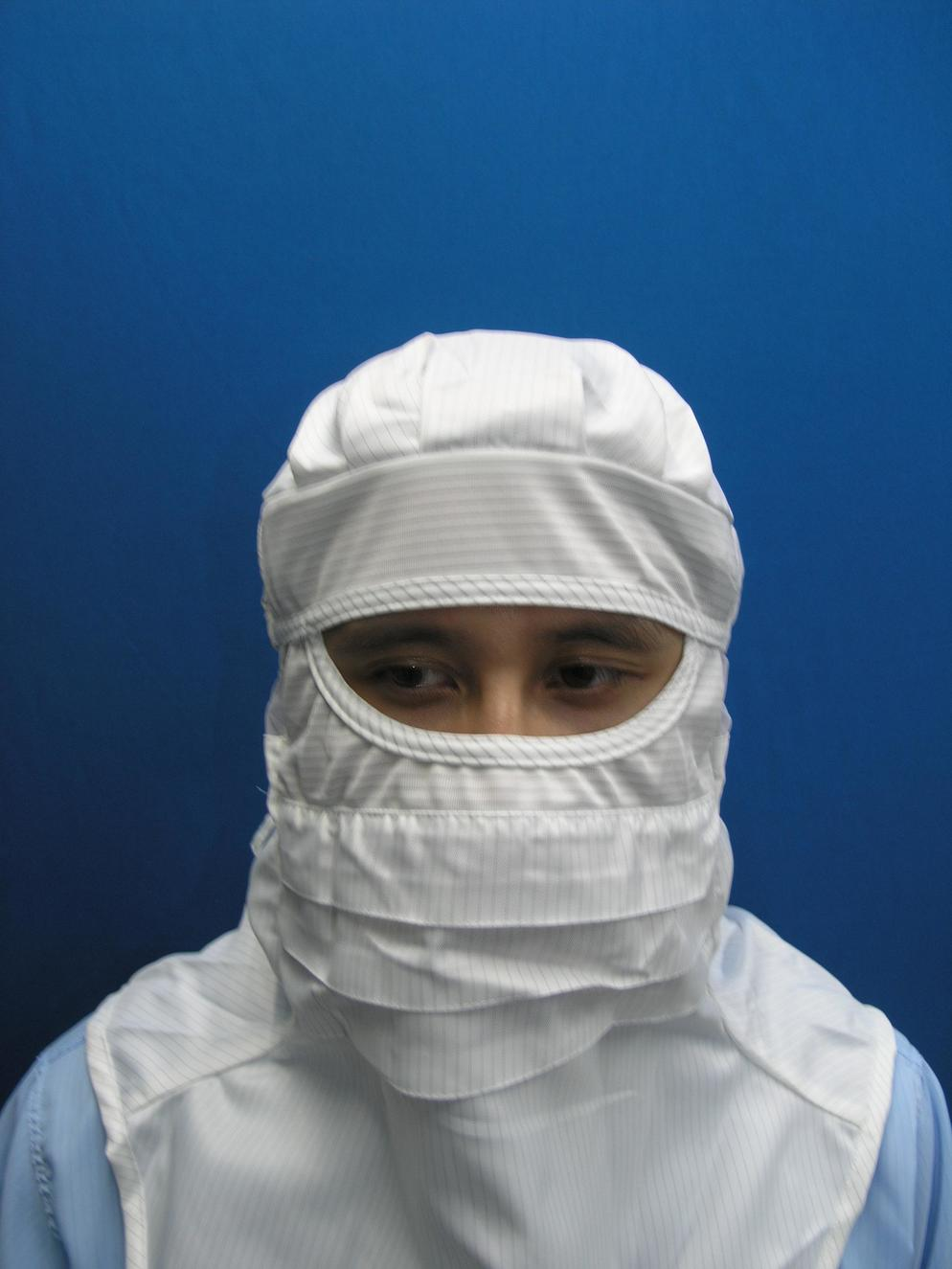 Cleanroom Lintfree Antistatic Hood With Skirt