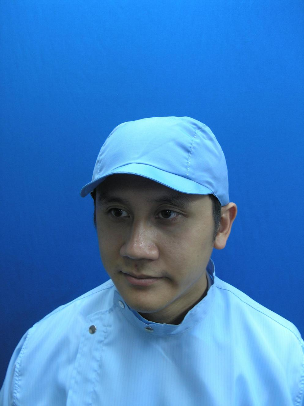 Cleanroom Lintfree Antistatic Cap With Flap