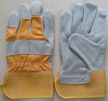 FULL PALM SEMI LEATHER GLOVES