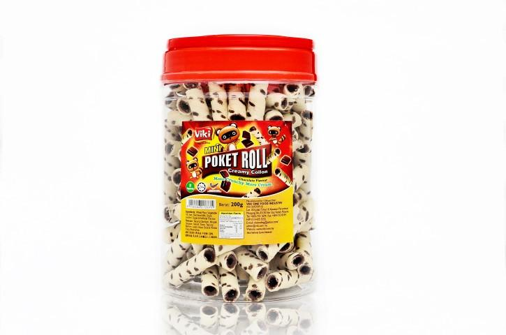 Poket Roll 350g - Chocolate