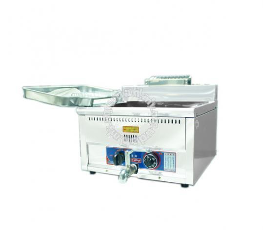 Automatic machine fryer deep