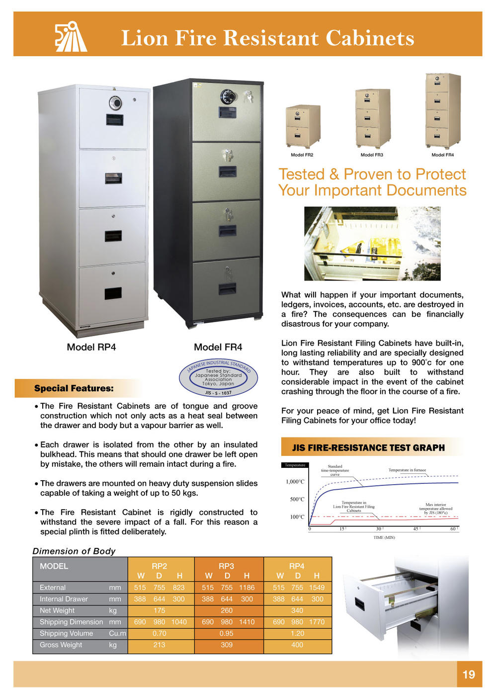 Fire Proof Filing Cabinets Lion Fire Resistant Filing Cabinets On Mltc Enterprise
