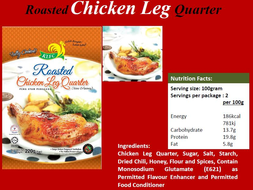 Roasted Chicken Leg Quarter