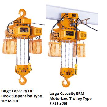 ER SERIES ELECTRIC CHAIN HOIST
