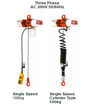 ED SERIES ELECTRIC CHAIN HOIST