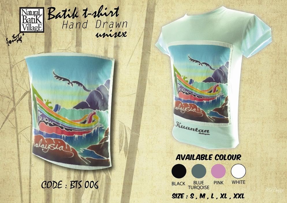 Batik Hand Drawn T-Shirt