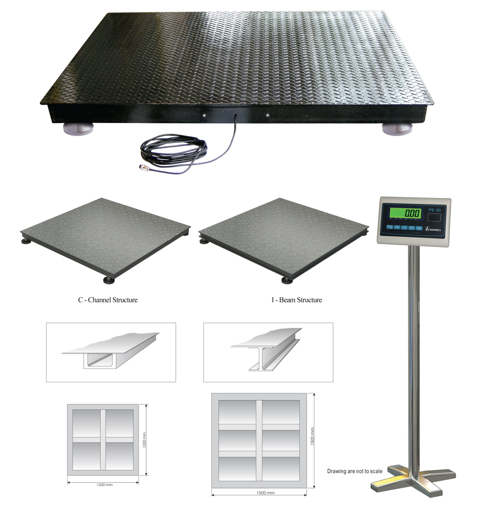 Floor scale on masstech weighing enterprise sdn bhd for Scale floor
