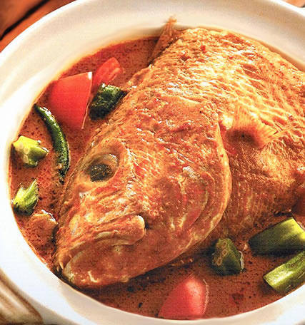Curry Assam Fish Head