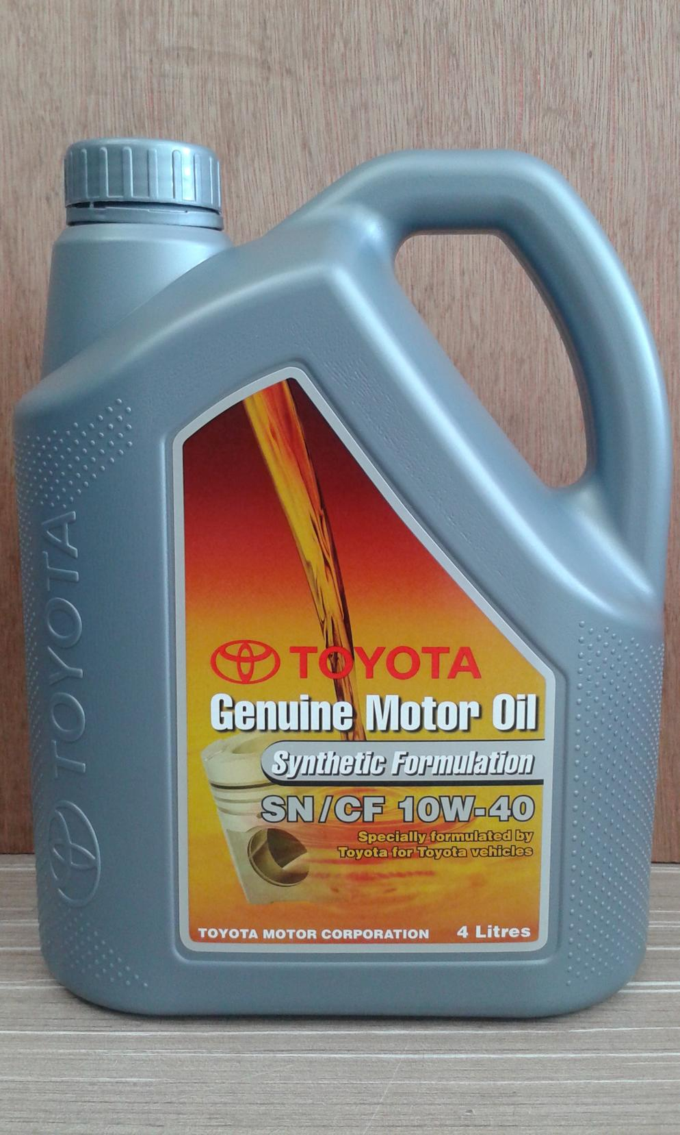 TOYOTA GENUINE SEMI 10W40 ENGINE OIL