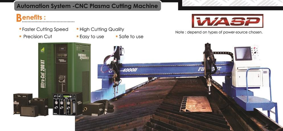 Automation System - CNC Plasma Cutting Machine