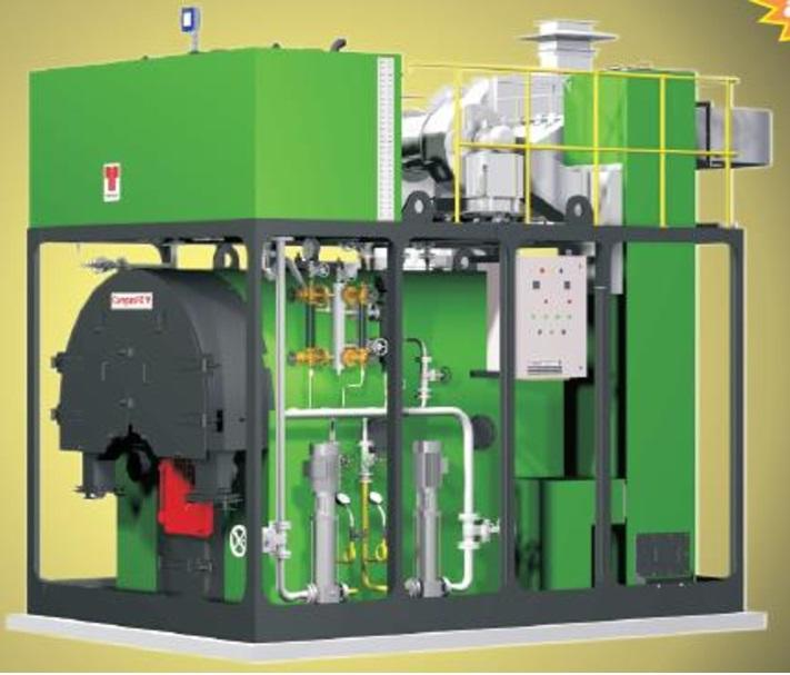Compact Mini Biomass Steam Boiler