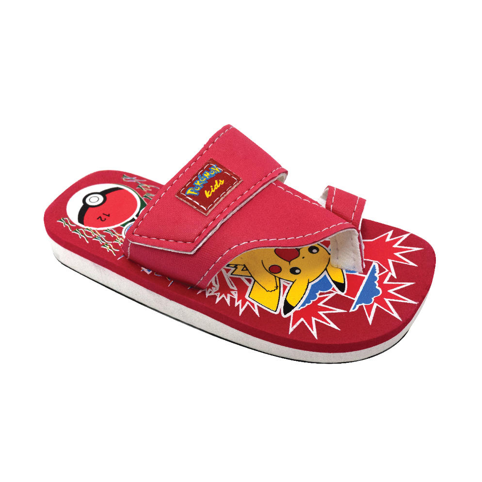 AEROKID - TODDLER SANDALS  (KS S279-RD) RED