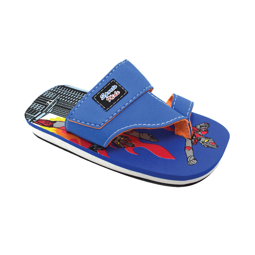 AEROKID - TODDLER SANDALS  (KS S284-B) BLUE