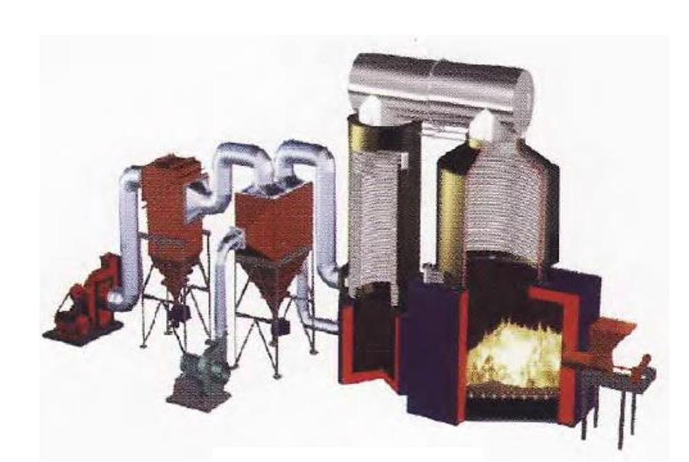 Biomass Vertical Thermal Oil Heater