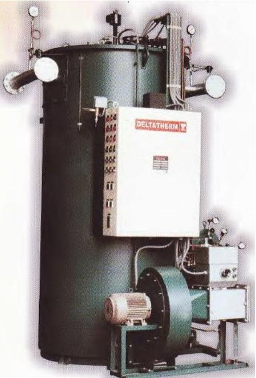 Oil/Gas Vertical Thermal Oil Heater