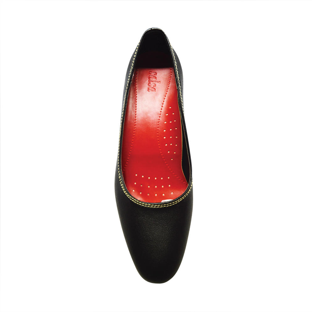 SALSA - LADIES PUMP SHOES (11-6697) BLACK