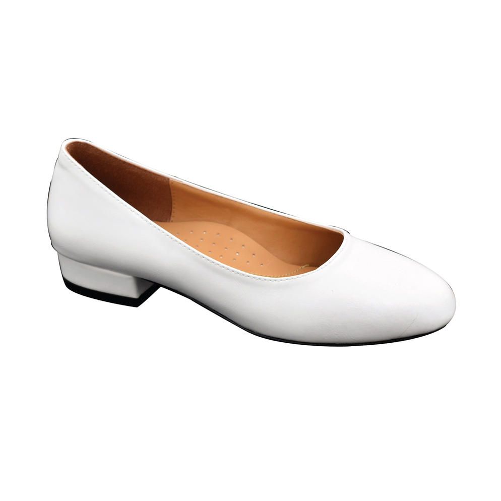 SALSA - LADIES PUMP SHOES (11-6753) WHITE