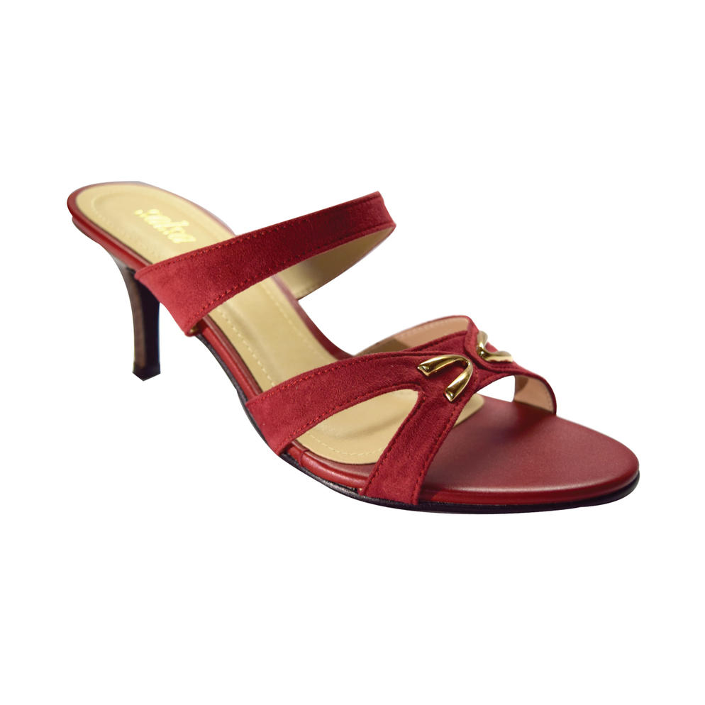 SALSA - LADIES LOW HEELS (17-994) RED