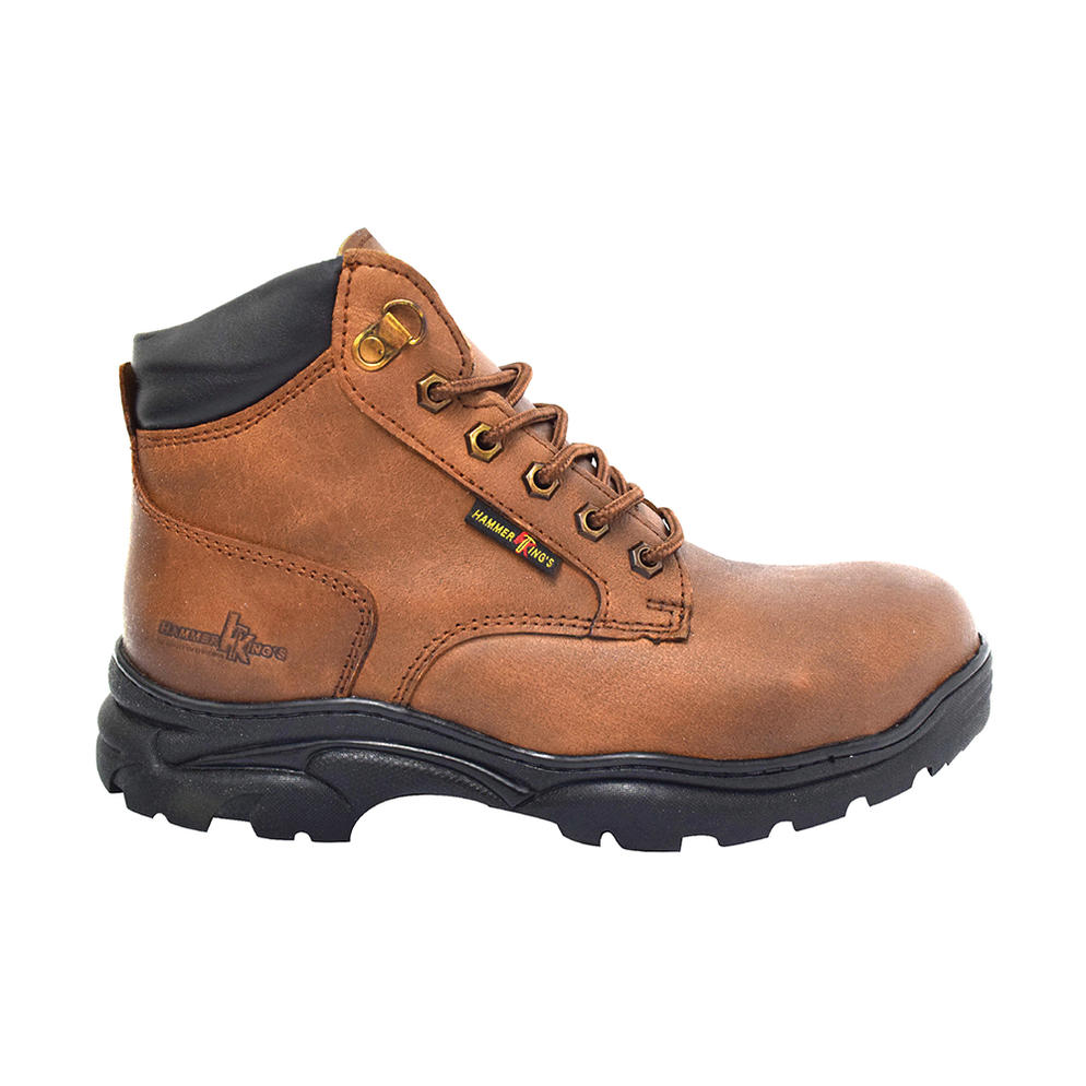 HAMMER KING - SAFETY SHOE (HK 13014-BN) Brown