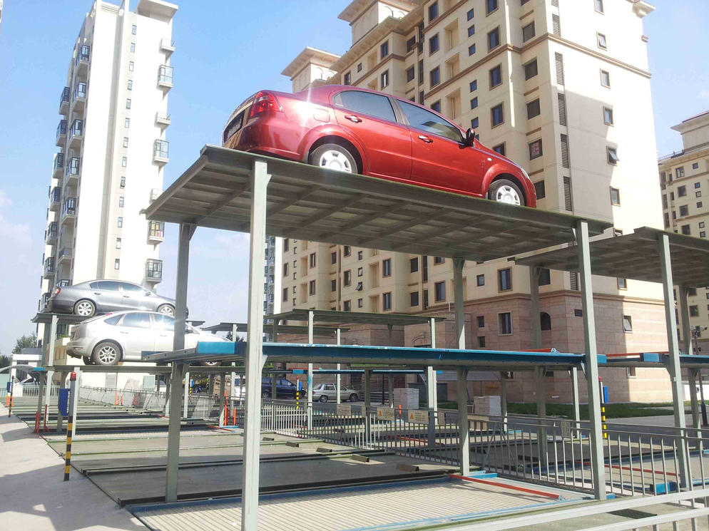 Pit Lifting Parking System