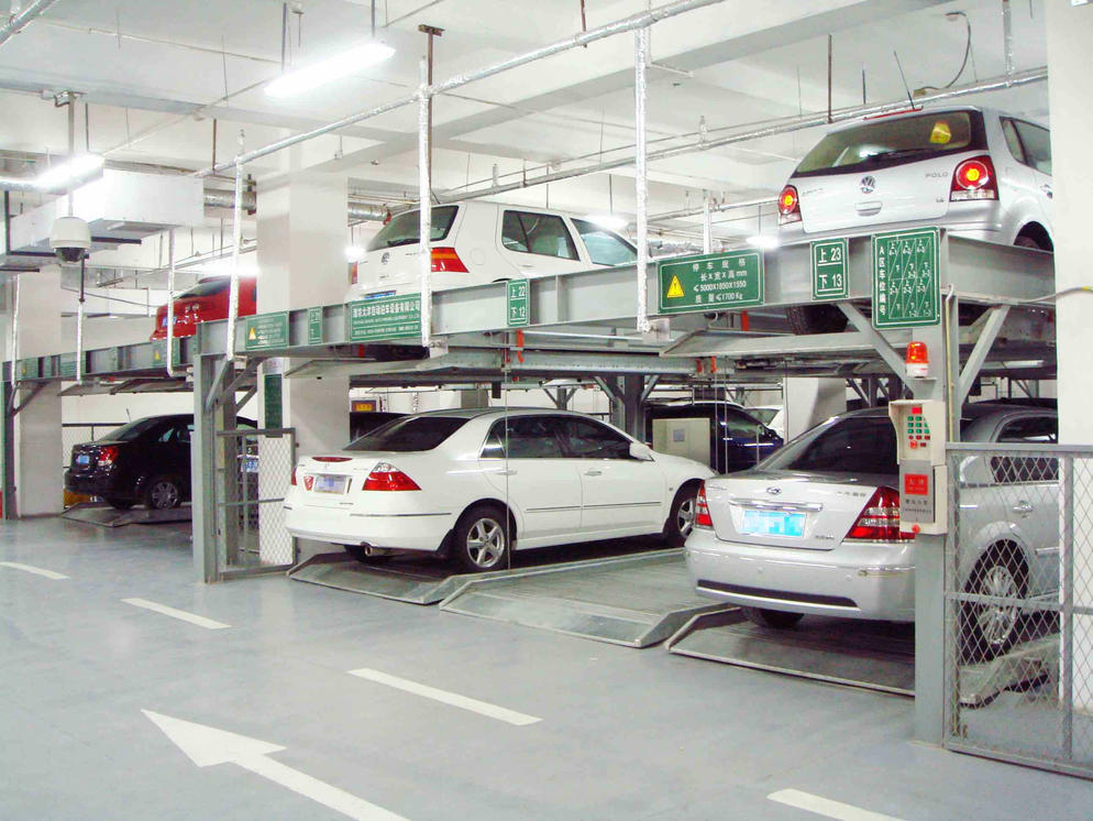 Vertical Horizontal PSH2 levels Parking System