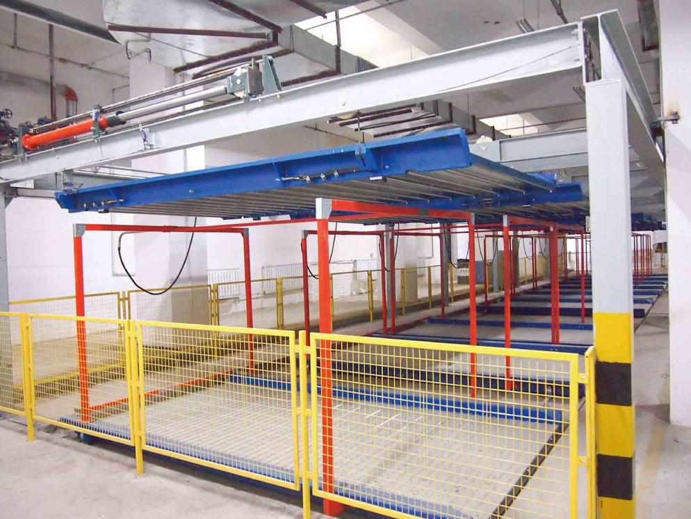 Vertical Horizontal PSH-1+2 Parking System